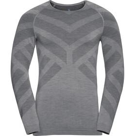 Odlo Natural + Kinship Warm Koszulka z długim rękawem Mężczyźni, grey melange